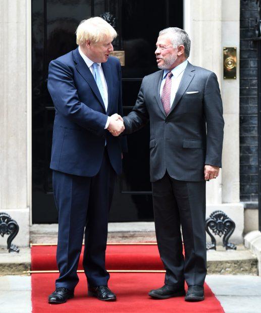 El motivo oculto de la repentina visita de Abdalá de Jordania a Londres
