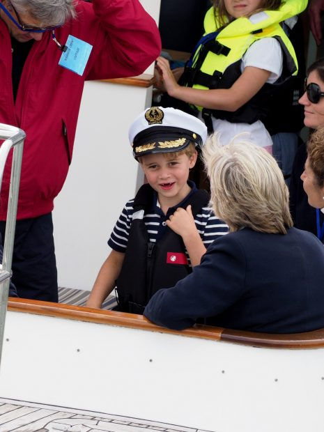 El príncipe George de Cambridge