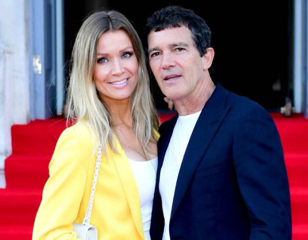 Nicole Kimpel and actor Antonio Banderas