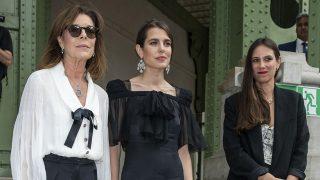 Carolina de Mónaco, Carlota Casiraghi y Tatiana Santo Domingo en una imagen de archivo / Gtres