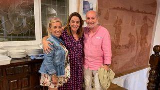 Carmen Borrego, su marido y Toñi Moreno / Instagram.