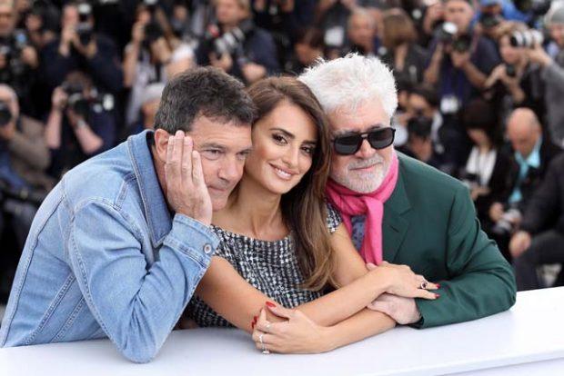 'Dolor y Gloria', la última película de Pedro Almodóvar, está dando muchas alegrías al actor malagueño / GTRES
