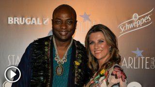 Marta Luisa de Noruega y su novio, Durek Verret, durante la Gala Starlite / Gtres