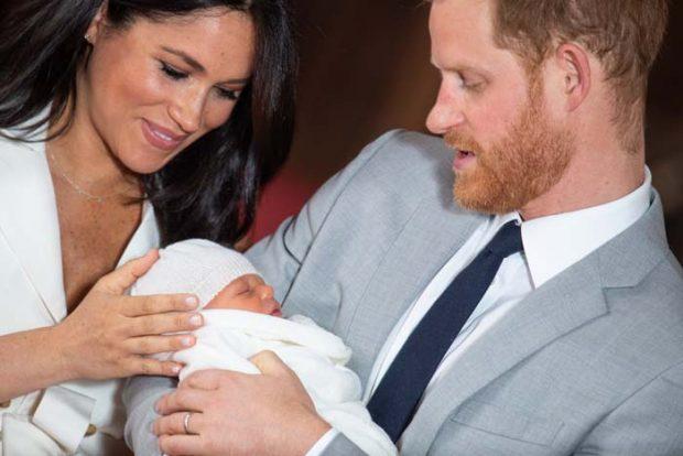 los duques de Sussex príncipe harry meghan markle