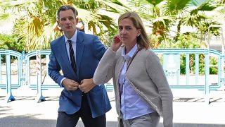 La infanta Cristina y Urdangarin en el juicio por el caso Nóos / Gtres