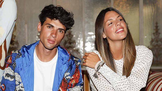 Laura Matamoros y Daniel Illescas en un evento este verano en Madrid / GTRES