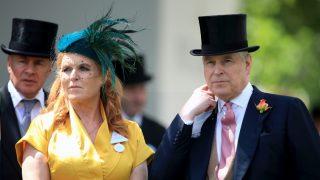Sarah Ferguson y el príncipe Andrés de Inglaterra, en una imagen de archivo / Gtres.