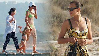 GALERÍA: Los estilismos imposibles de Irina Shayk en Ibiza con los que pocas se atreverían / Gtres