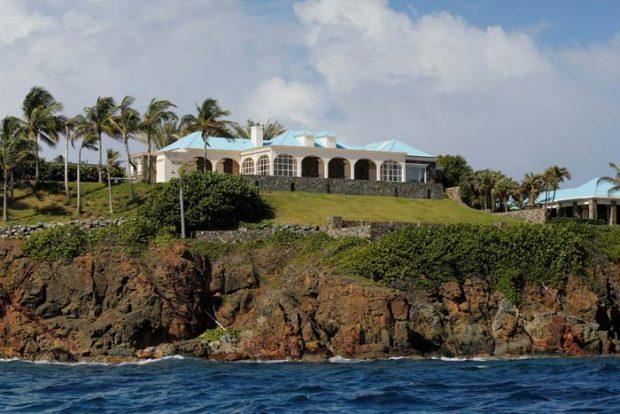Jeffrey Epstein isla Caribe