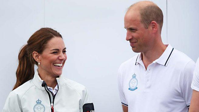 Los duques de Cambridge, Kate Middleton y el príncipe Guillermo