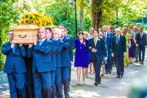 Princesa Cristina Holanda cremación