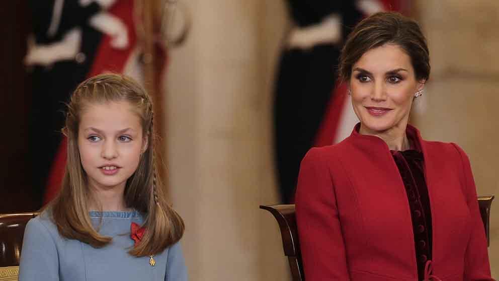 El curso 2019-2020 ya está señalado como el año en que el peso de la Corona superó a la voluntad de Letizia como madre / GTRES