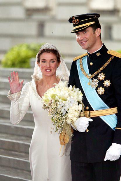 reina Letizia, rey Felipe