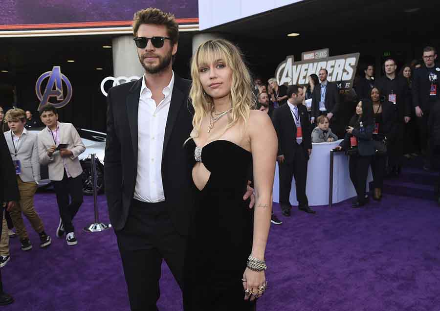 Liam Hemsworth y Miley Cyrus en una imagen de archivo / GTRES