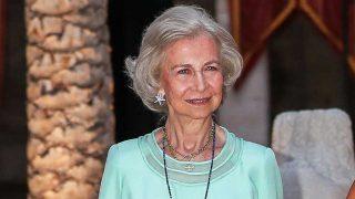La reina Sofía refleja su amor por Mallorca también en sus joyas / Gtres
