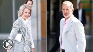 El rey Felipe y la reina Sofía han acudido al hospital / Gtres.