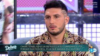 Omar Montes, en 'Sábado Deluxe' / Telecinco.