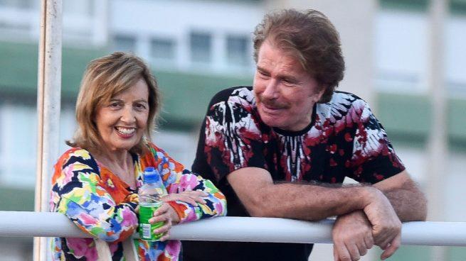 Edmundo Arrocet y María Teresa Campos