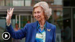 La reina Sofía se pronuncia sobre la visita de las infantas al rey Juan Carlos / Gtres