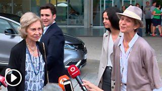 La reina Sofía da la última hora del estado de salud del rey Juan Carlos / Gtres