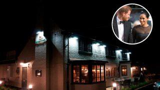Galería: descubre dónde y qué cenaron el príncipe Harry y Meghan Markle