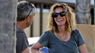 Julia Roberts disfruta de sus vacaciones en Hawai/ Gtres