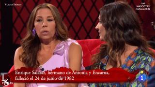 Toñi y Ecarna estuvieron seis años sin hablarse./RTVE
