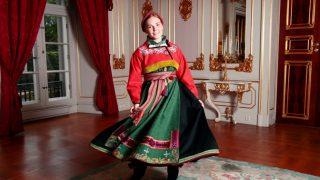 Ingrid de Noruega, en su Confirmación / Casa Real Noruega.