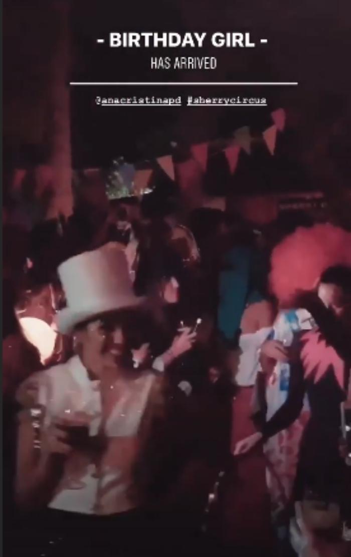 ¡Un circo por todo lo alto! Ana Cristina Portillo celebra una espectacular fiesta de disfraces