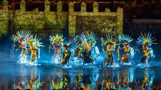 Imagen del espectáculo / Cortesía Puy du Fou
