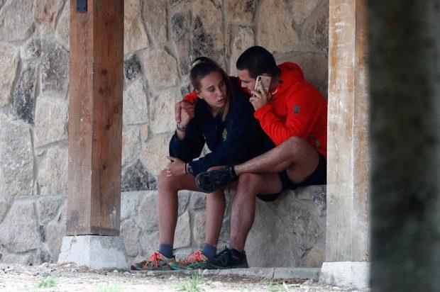 Exclusiva: La hija de Blanca Fernández Ochoa ya está de nuevo concentrada con su equipo de rugby