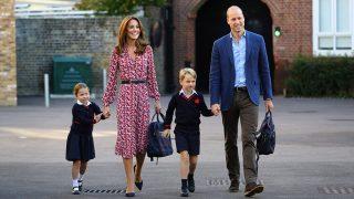 Los duques de Cambridge y sus hijos en la vuelta al cole / Gtres