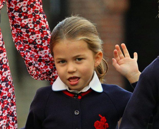 La princesa Charlotte, la auténtica protagonista en la vuelta al cole de los Cambridge