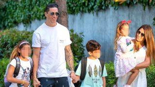 Galería: la vuelta al cole de los hijos de Fernando Torres / Gtres