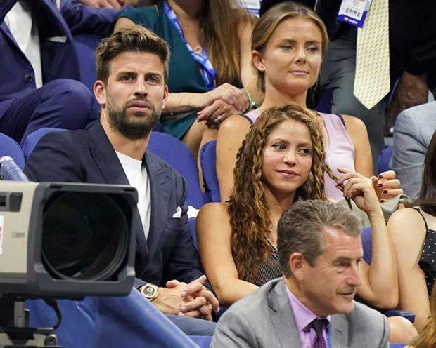La complicidad de Shakira y Piqué eclipsa a Rafa Nadal en New York