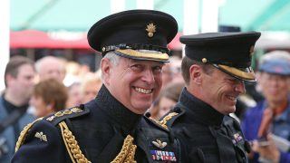 El príncipe Andrés ha reaparecido en Bélgica / Gtres