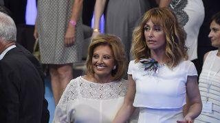 María Teresa Campos y Emma García: amigas y rivales./GTRES