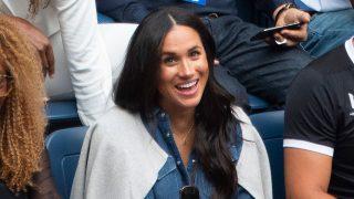 Meghan Markle ha viajado a Estados Unidos para apoyar a su amiga Serena Williams en su último partido  / Gtres