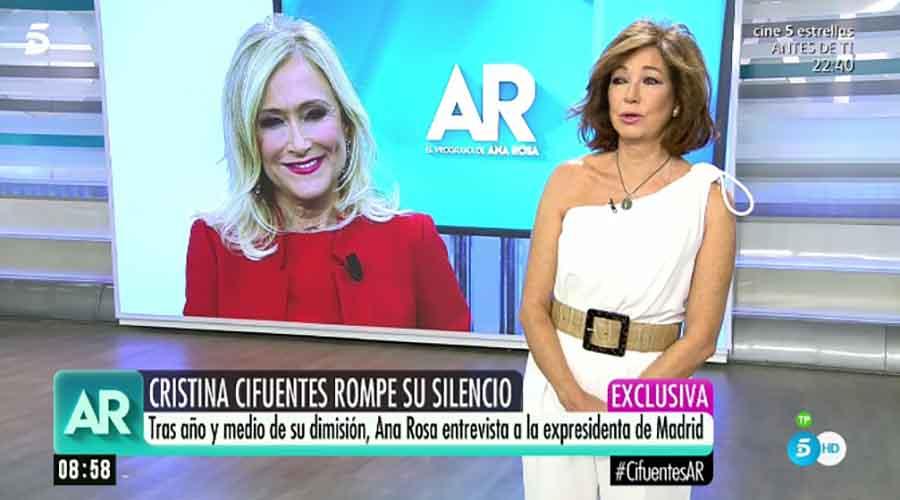 Ana Rosa Quintana / Telecinco