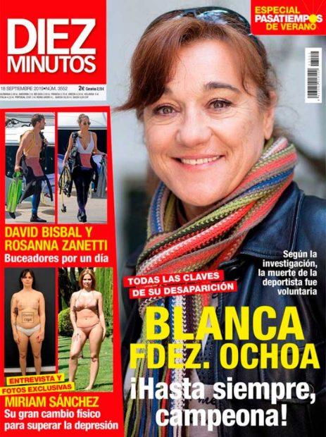 Blanca Fernández Ochoa y Camilo Sesto adelantan las revistas del corazón