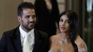 Daniella Seemaan junto a su marido Cesc Fábregas /Gtres
