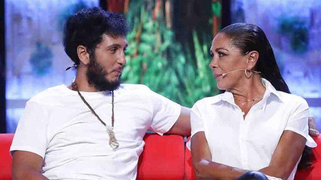 Isabel Pantoja y Omar Montes en 'Supervivientes' / GTRES