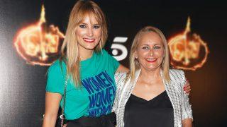 La colaboradora Alba Carrillo y su madre, Lucía Pariente. / Gtres