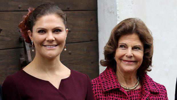 Victoria y Silvia de Suecia
