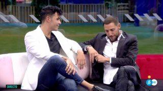 Kiko Jiménez y Antonio David Flores en 'GH VIP'./Mediaset