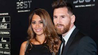 Messi y Antonela Roccuzzo / Gtres
