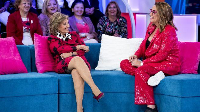 María Teresa Campos vuelve a la tele de la mano de Toñi Moreno y acompañada de sus hijas