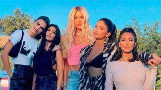 Las hermanas Kardashian-Jenner. / @kimkardashian