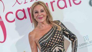Ana Obregón durante la gala de los Premios Escaparate 2019 / GTRES