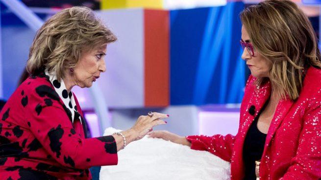 El emotivo ofrecimiento de Toñi Moreno a María Teresa Campos en el estreno de 'Aquellos maravillosos años'